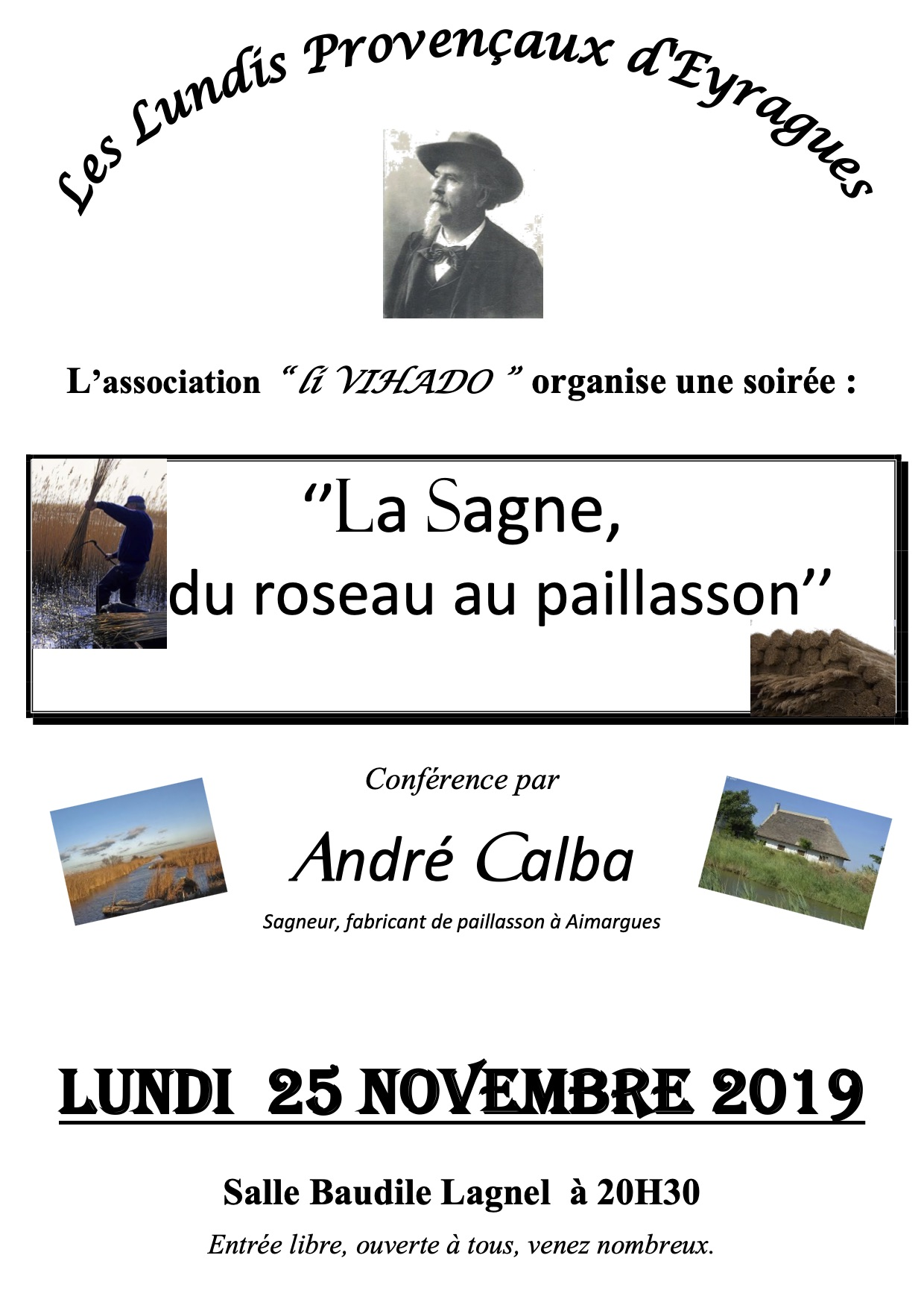 """Li Vihado - """"La Sagne, du roseau au paillasson"""" @ Salle Baudile Lagnel"""
